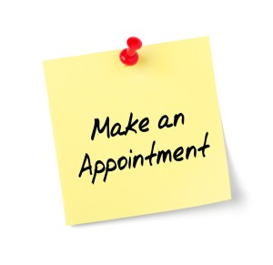 """""""make an appointment"""""""